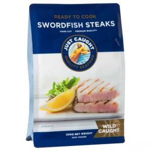 Just Caught Swordfish Steak