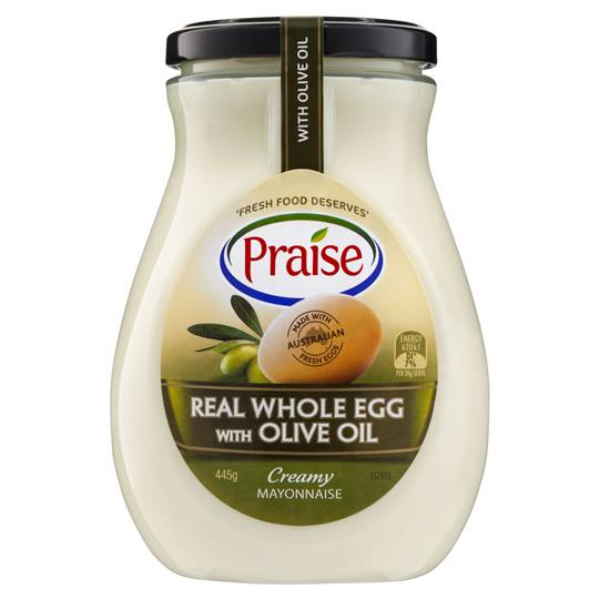 Praise Whole Egg Mayonnaise With Olive Oil