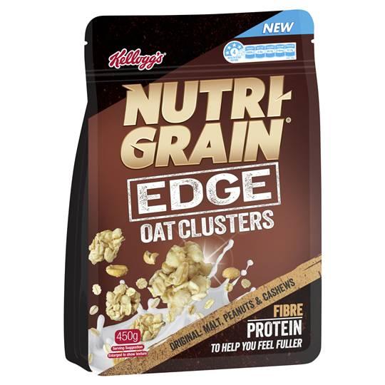 Nutri Grain Edge Oat Clusters Original Malt Peanuts & Cashew