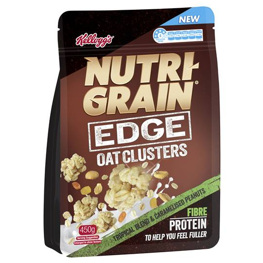 Nutri-grain Edge Oat Clusters Tropical Blend & Peanuts