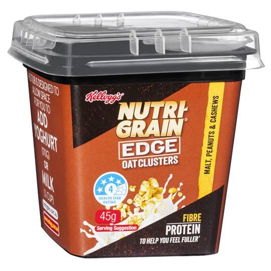 Kellogg's Nutri-grain Edge Oats Clusters Malt, Peanut & Cashew
