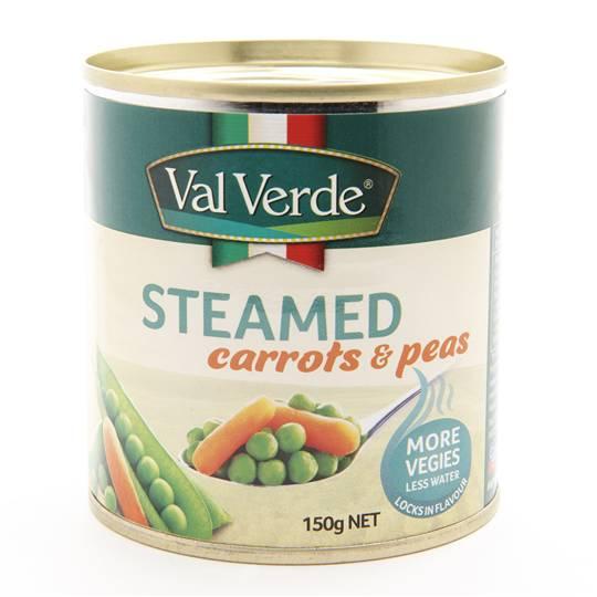 Val Verde Steamed Peas & Carrots 3pk