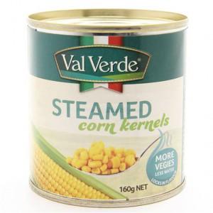 Val Verde Steamed Corn Kernels