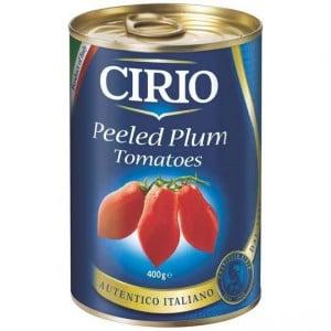 Cirio Peeled Plum Tomatoes