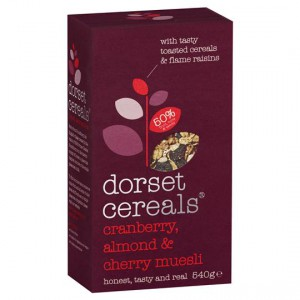 Dorset Cereals Cranberry Almond & Cherry Muesli
