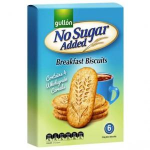 Gullon No Added Sugar Breakfast Biscuits Plain