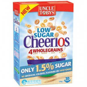 Uncle Tobys Cheerios Low Sugar