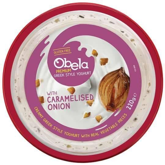 Obela Greek Style Yoghurt Dip With Caramelised Onion