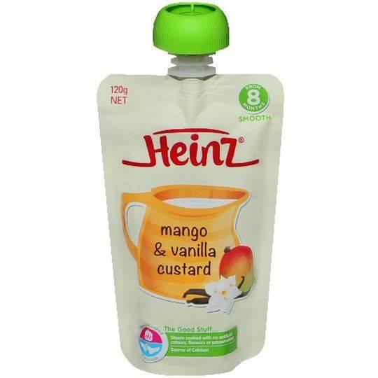 Heinz 8 Months+ Mango & Vanilla Custard