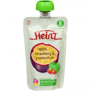 Heinz 8 Months+ Apple, Strawberry & Passionfruit