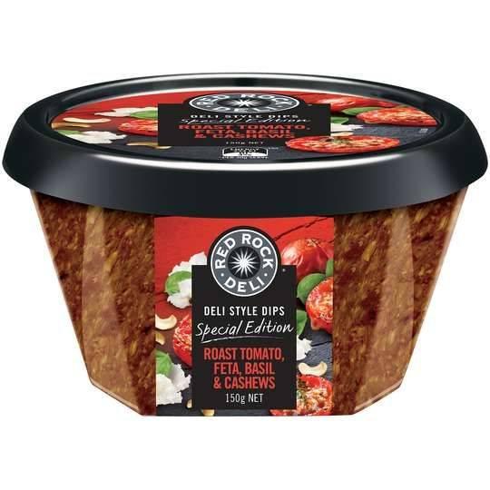 Red Rock Deli Roast Tomato Feta Basil & Cashew Dip