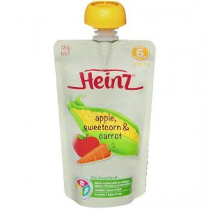 Heinz 6 Months+ Apple, Sweetcorn & Carrot