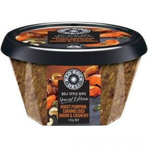 Red Rock Deli Roast Pumpkin Caramelised Onion & Cashew Dip