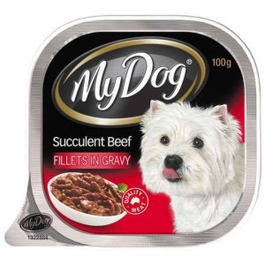 My Dog Adult Dog Food Gourmet Beef In Gravy