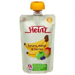 Heinz 6 Months+ Banana, Mango And Berries