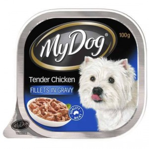 My Dog Adult Dog Food Tender Chicken Fillet In Gravy