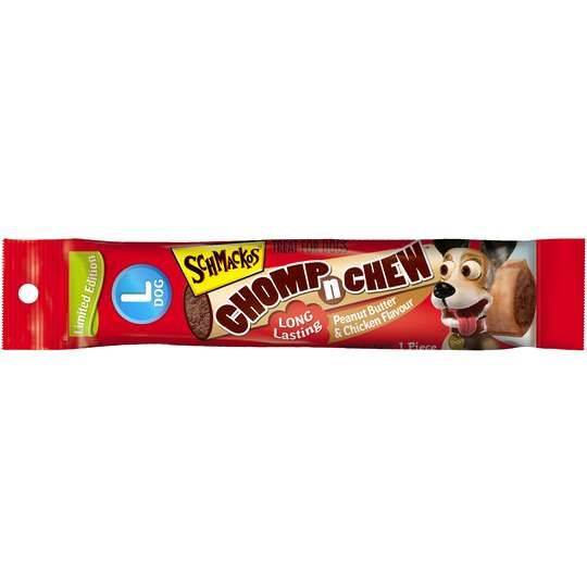 Schmackos Chomp 'n' Chew Peanut Butter & Chicken