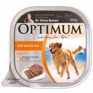 Optimum Adult Dog Food Beef & Rice