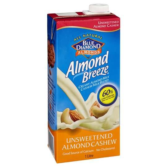 Almond Breeze Almond & Cashew Milk