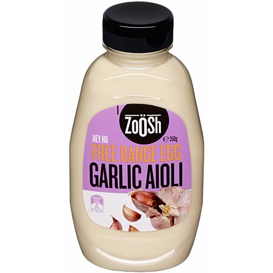 Zoosh Free Range Egg Garlic Aioli