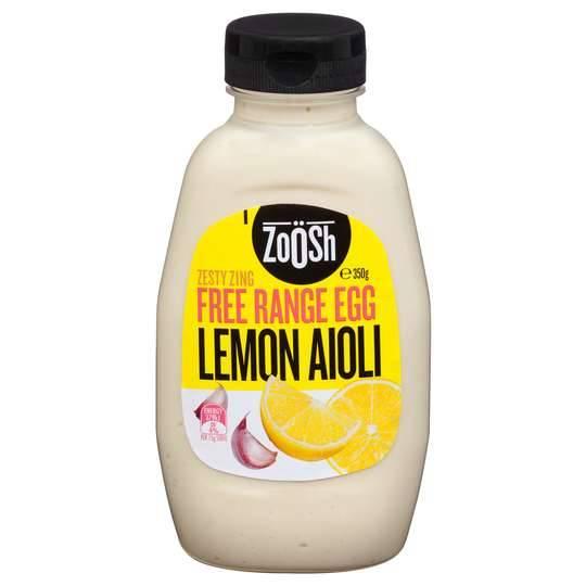 Zoosh Free Range Egg Lemon Aioli