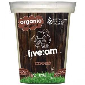 Five:am Organic Cacao Yoghurt