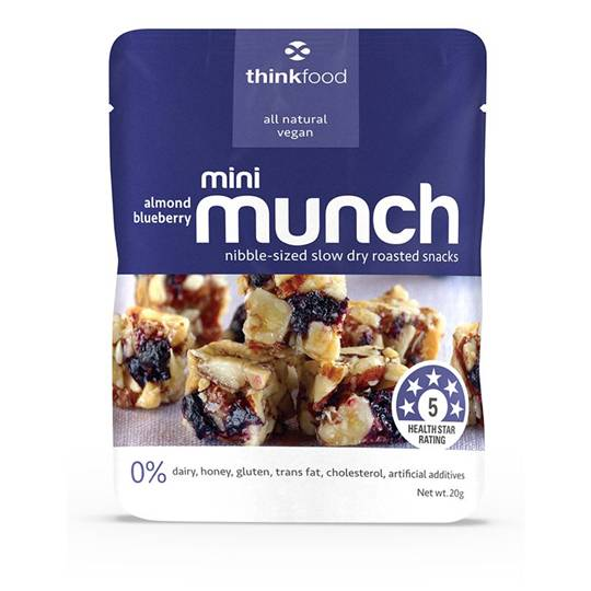 Thinkfood Mini Munch Blueberry