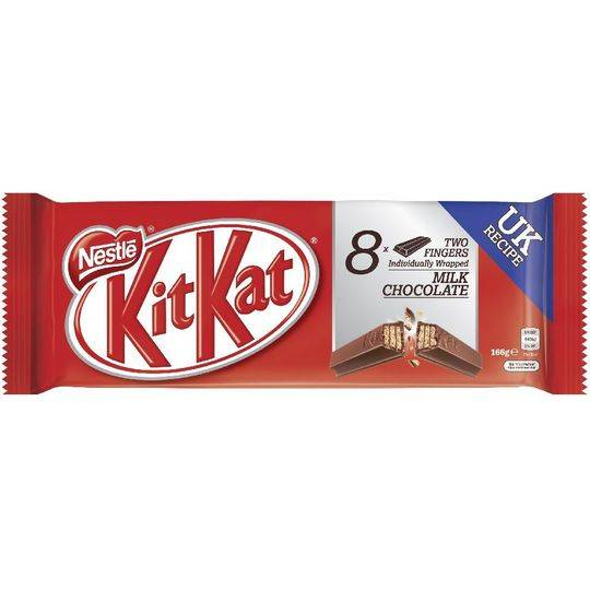 Kit Kat 2 Finger Milk Chocolate Biscuit