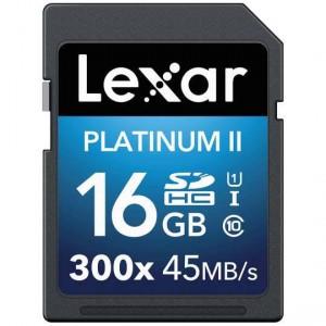 Lexar Memory Sd Card 16 Gb