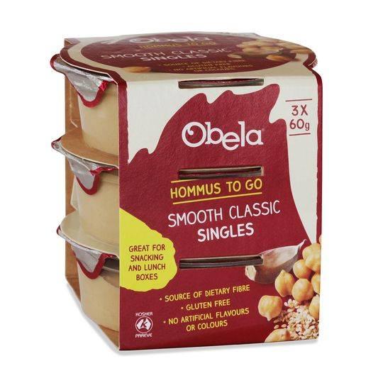 Obela Smooth Classic Hommus Singles