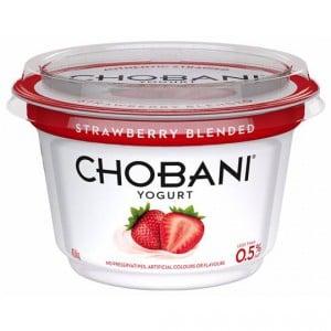 Chobani Strawberry Blended Yoghurt