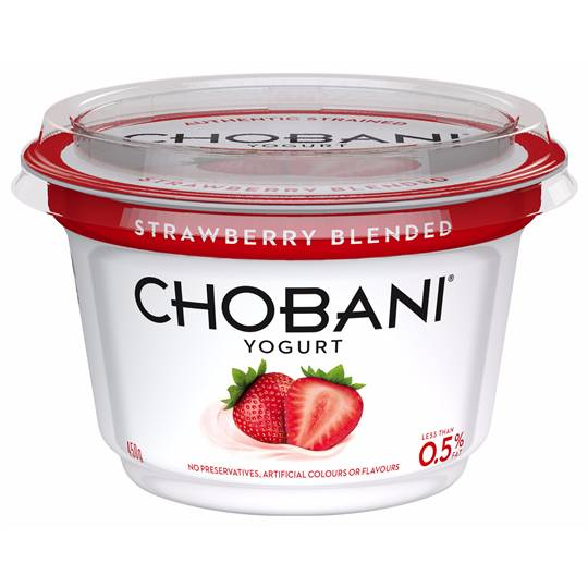 Chobani Strawberry Blended Yoghurt