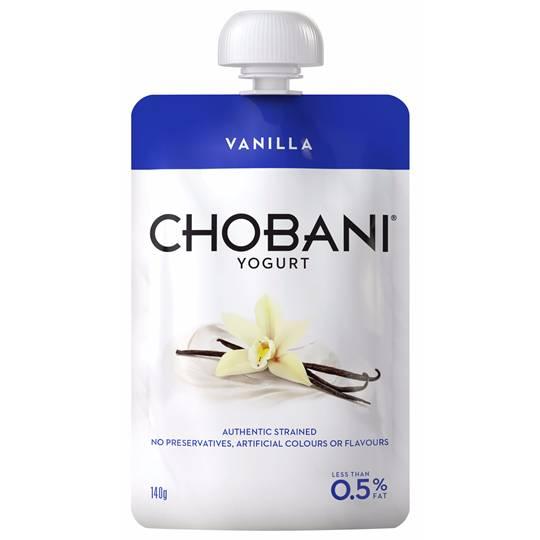 Chobani Vanilla Yoghurt Pouch