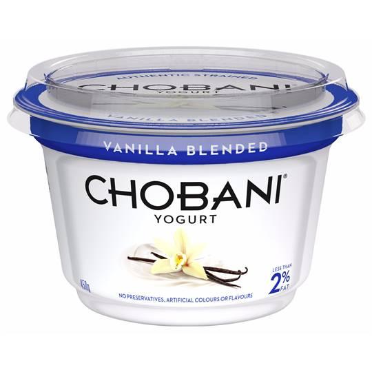 Chobani Vanilla Blended Yoghurt