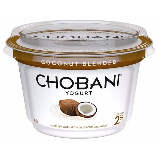 Chobani Coconut Blended Yoghurt