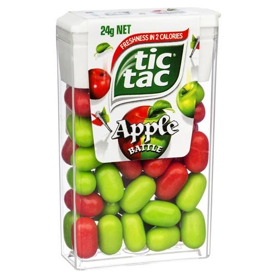 Tic Tac Apple Battle