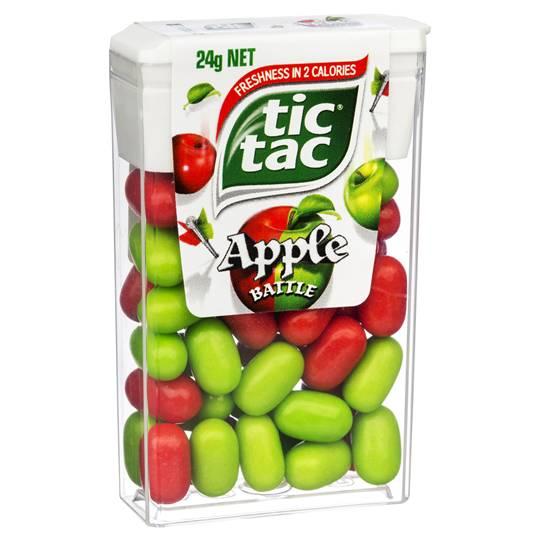 Tic Tac Apple Battle
