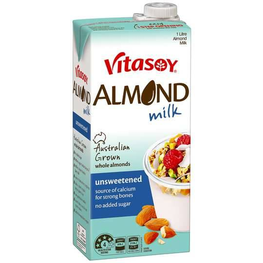 Vitasoy Almond Milk Unsweetened