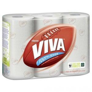 Kleenex Viva Paper Towel Footy Finals