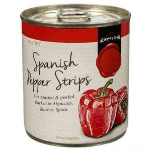 Always Fresh Medi Deli Fire Roasted Pepper Strips