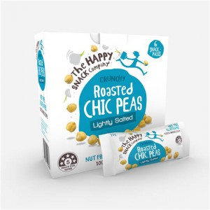 The Happy Snack Company Roasted Chic Peas Lightly Salted