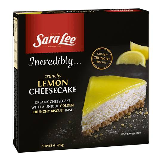 Sara Lee Cheesecake Crunchy Lemon