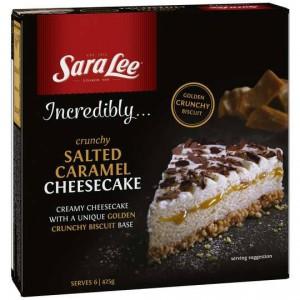 Sara Lee Cheesecake Crunchy Salted Caramel