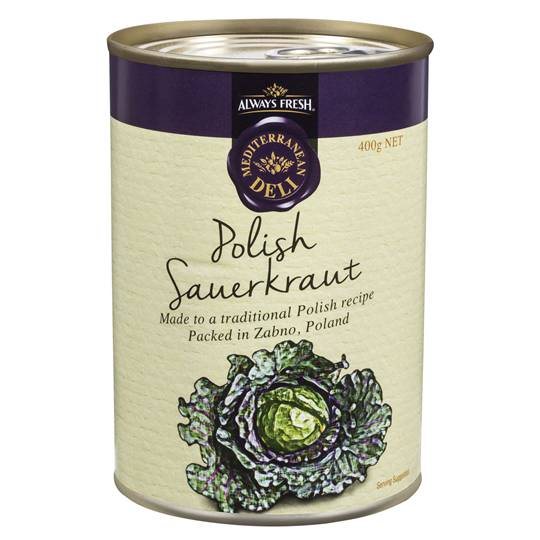 Always Fresh Medi Deli Polish Sauerkraut