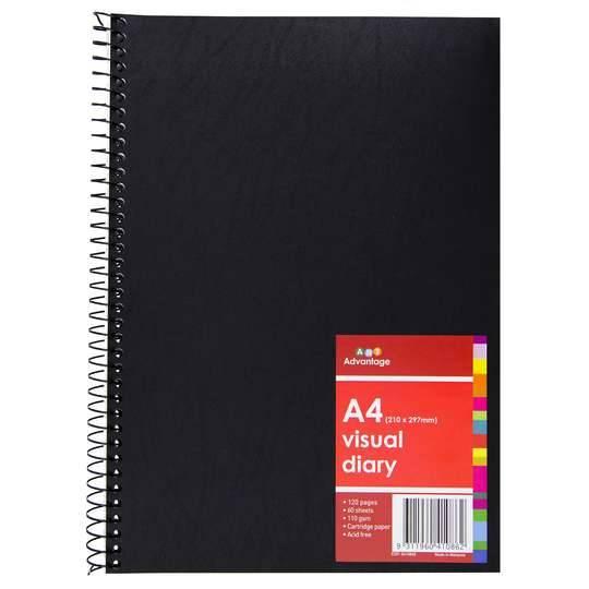 Art Advantage Visual Diary A4