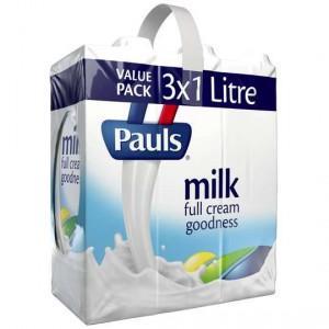 Pauls Full Cream Long Life Milk