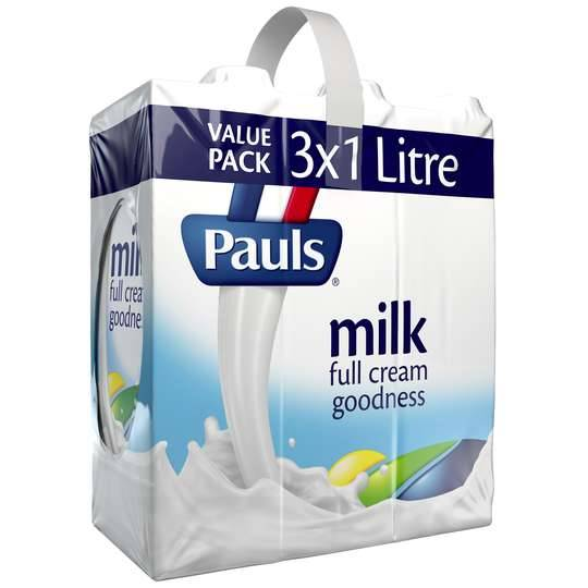 Pauls Full Cream Long Life Milk