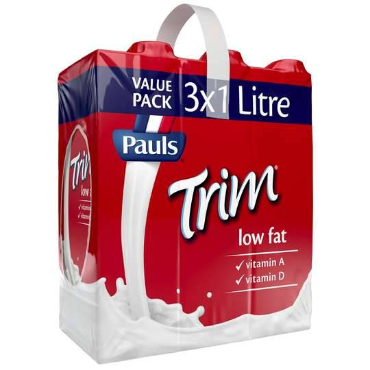 Pauls Trim Low Fat Long Life Milk