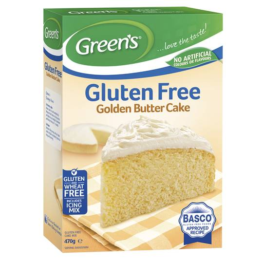 Greens Gluten Free Cake Mix Golden Butter