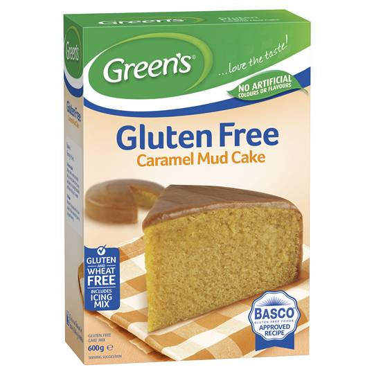 Greens Gluten Free Cake Mix Caramel Mud